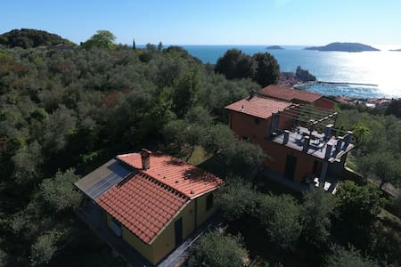 Close to 5 terre, terrace, garden - Lerici - Villa