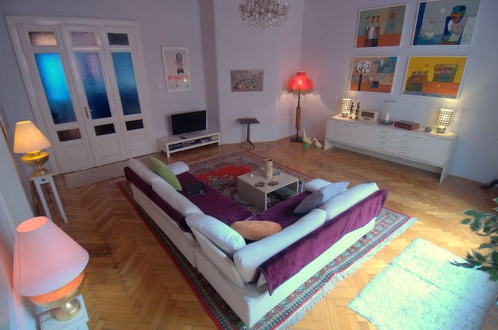 Beautiful Period Spacious Apartment - Budapest - Wohnung