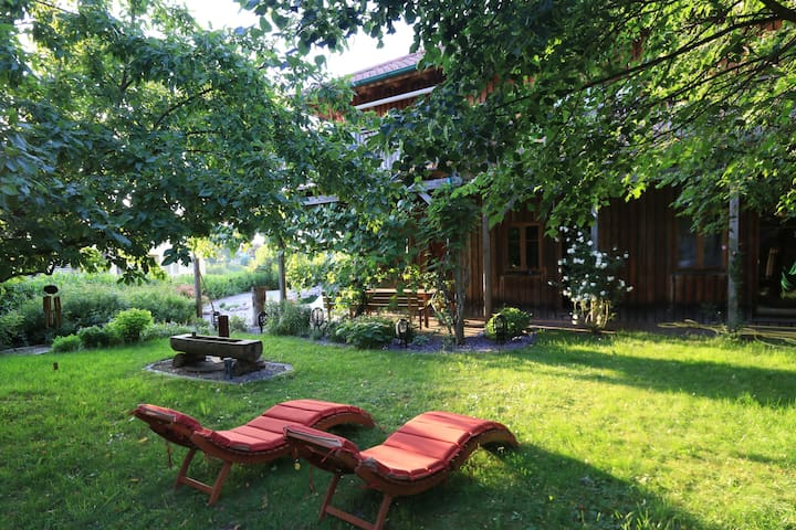 Little Oasis close to the Attersee