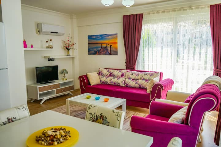 Likya Garden Residence - 1 Bed. Stylish Apartment