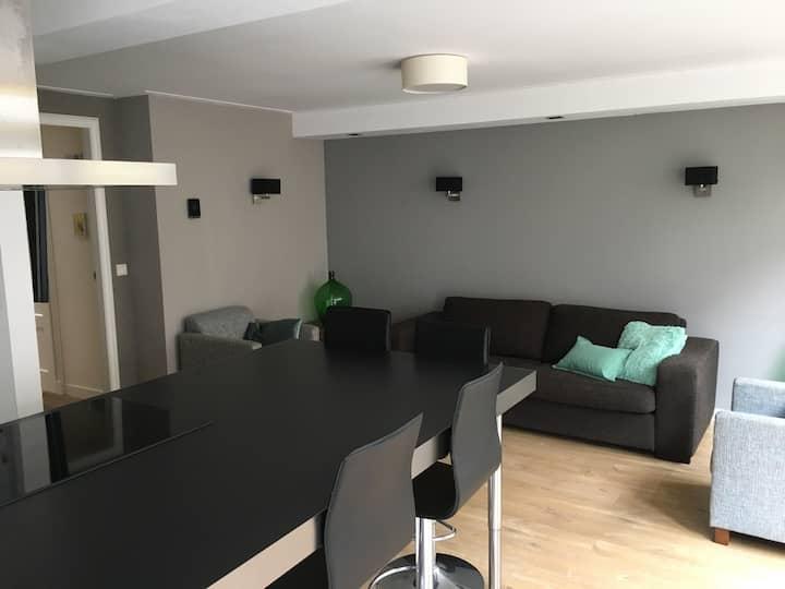 Mooi appartement met luxe badkamer