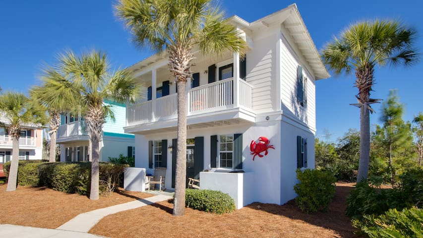 Sugar Sand Cottage-2BR-30A-Apr 8 thru 10 $533! Walk 2 Seagrove Beach- Updated