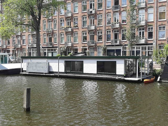 houseboat near centre & westerpark