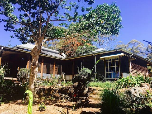 Tyagarah oceanside & tropical garden paradise - Tyagarah - Maison