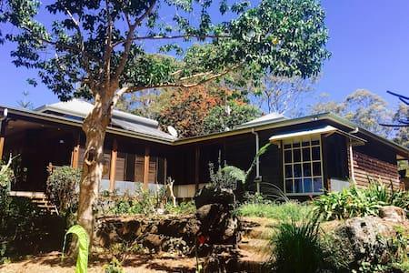 Tyagarah oceanside & tropical garden paradise - Casa