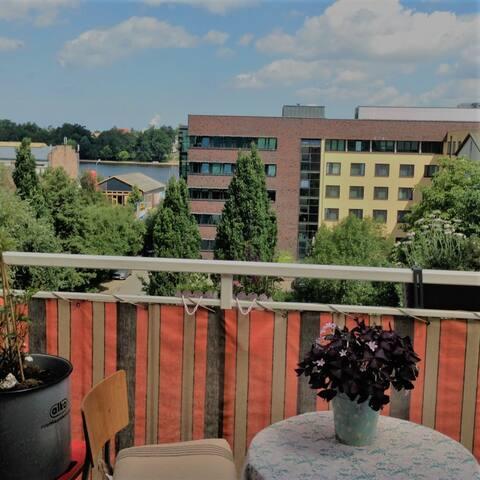 wunderbarer Blick/ Balkon