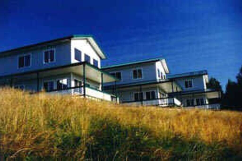 Three luxury cabins at CastAway Riverside on the Kenai River