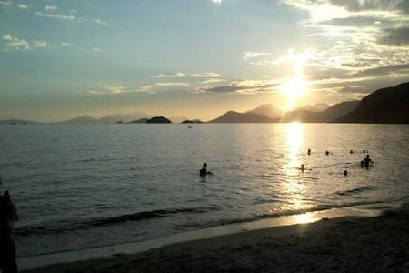 No Coração da Praia de Muriqui - Muriqui, Mangaratiba RJ