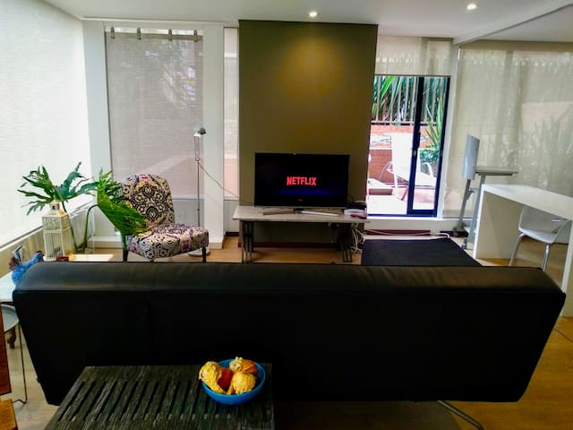 Modern 2 Bedroom Apartment Fully Equipped