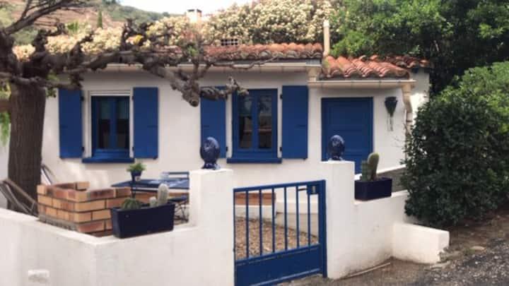 Port-Vendres/Collioure: maison+jardin clos+parking