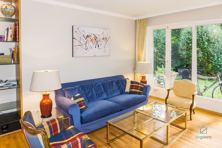 CHIC APARTMENT WITH GARDEN NEAR NYMPHENBURG PALACE