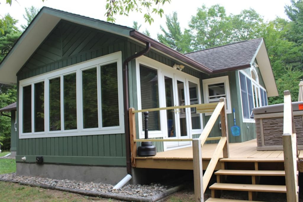 Algonquin mountain chalet houses for rent in wilmington for Wilmington ny cabin rentals