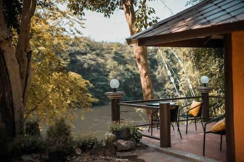 Shady and fresh air , near Erawan falls
