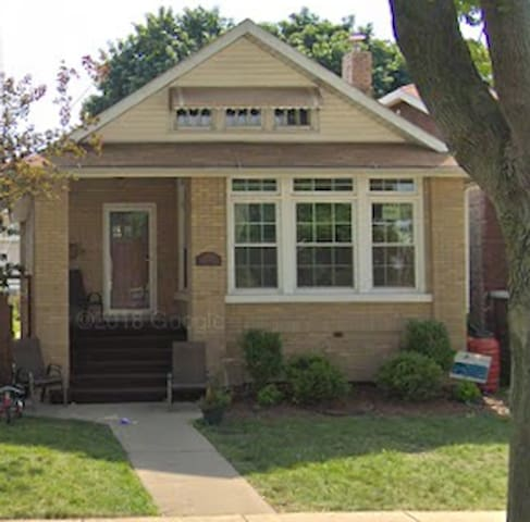 Historical Chicago Bungalow Home Great Location