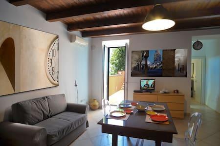 Salerno centro storico terrazzo panoramico - Salerno - Apartmen