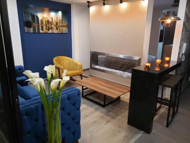 LUXURY LOFT Amplio, Nuevo  aparta estudio loft