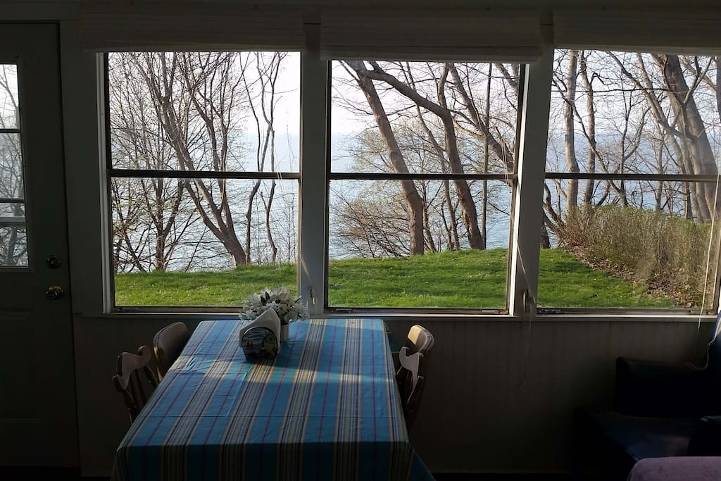 Lake Erie from the porch