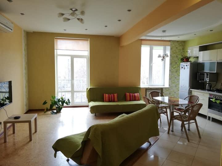 Квартира-студия с 2мя спальнями в Центре Могилева