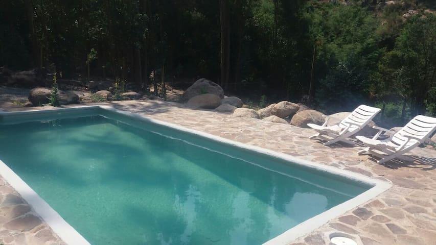 Cabaña con piscina para 4 en Olmué