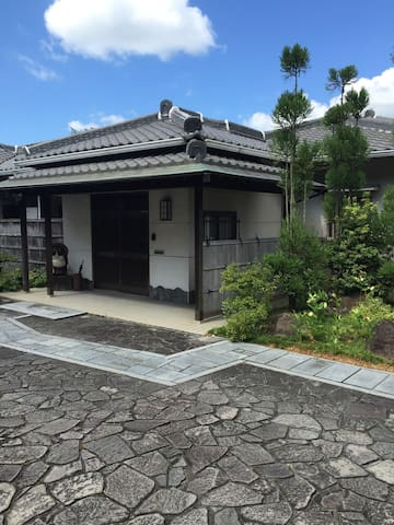Very Japanized house with garden