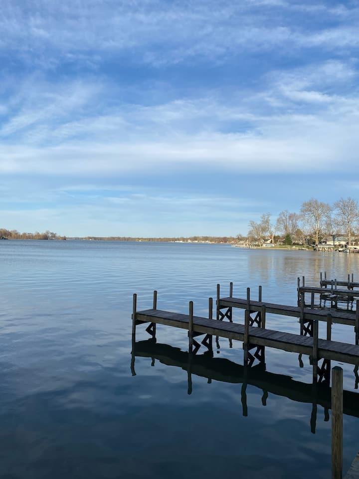 "The ""Inn"" at  Buckeye Lake - #1 - On the Water!"