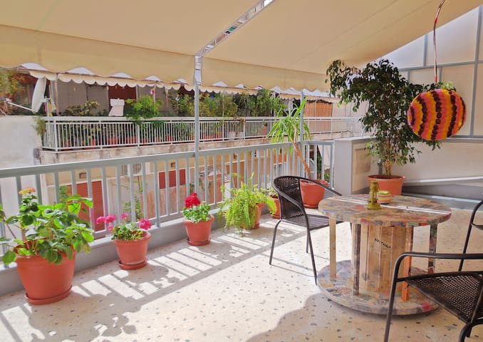 Large Balcony for relaxing moments!