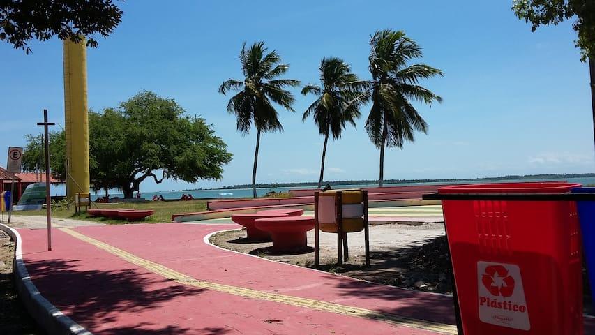 Casa Verde - próxima a praia - Vera Cruz