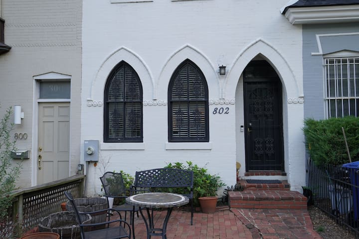 Charming row house in Foggy Bottom
