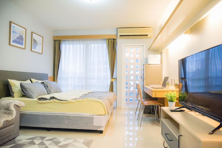 Cozy stay near RCA, MRT RAMA9, Huaikwang, CBD