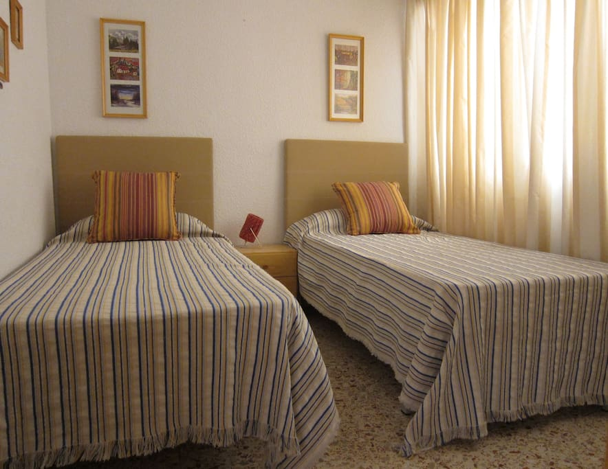 Room n°2 -  two brand new single beds