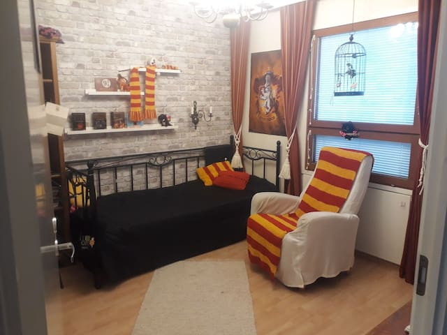 Harry Potter-room in Hämeenlinna, shared flat