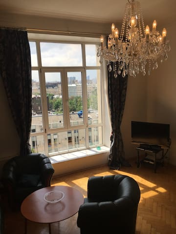 Amazing views apartment at Tverskaya st.