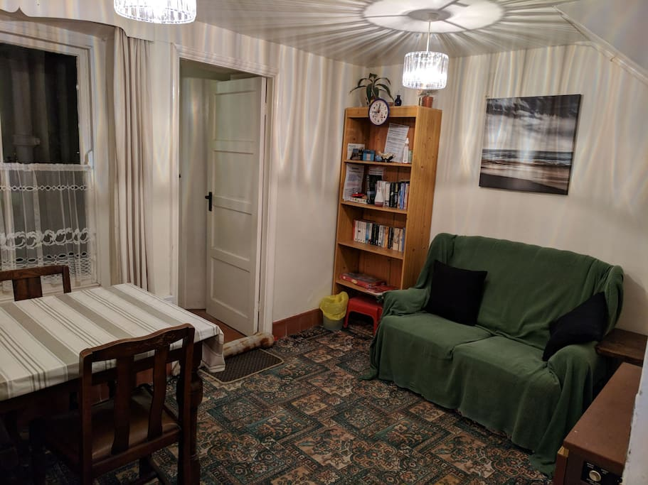 Dining/Living area downstairs.