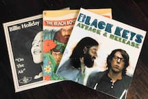Fancy listening to some vinly? Ask Allen to share with you his collection with you & we can put on your favorite tunes.