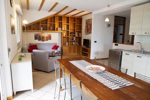 Casa Moiser i hjärtat av Valtellina