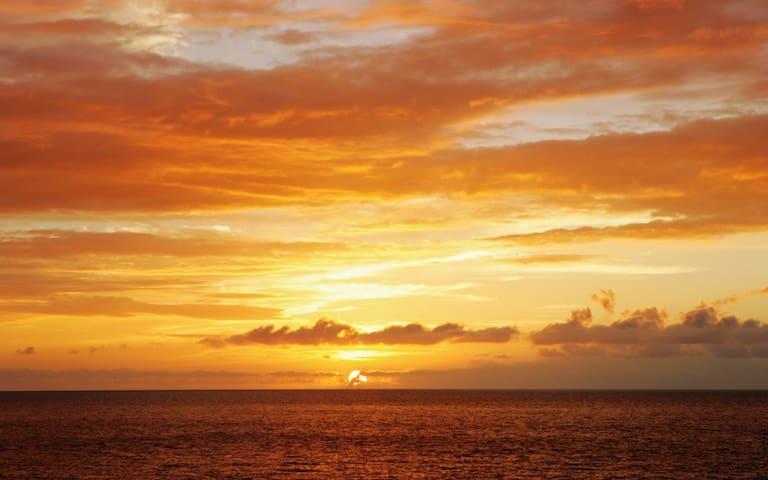 UNIT 1 VITAMIN SEA Airbnb RESORT  RIGHT ON  BEACH.