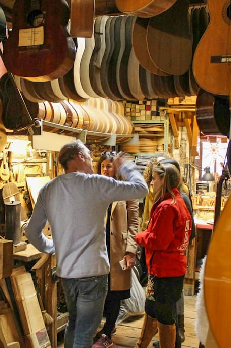 Artisan workshop visit