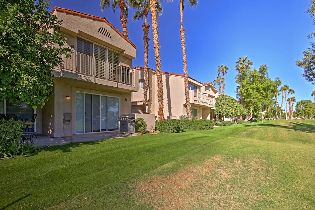 This home grants access to several community amenities in the PGA West Golf Resort.
