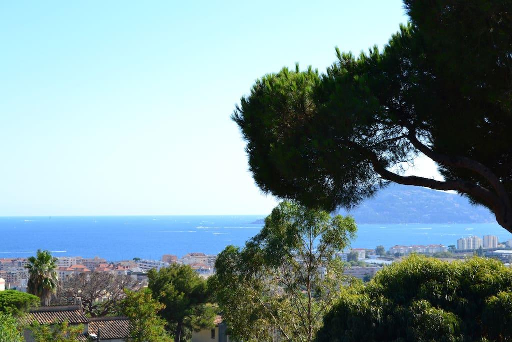 vista dal terrazzo/ vue depuis la terrasse