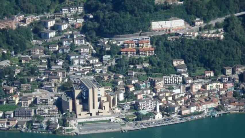 Monolocale 50m dal lago 9km da Lugano e 20 da Como