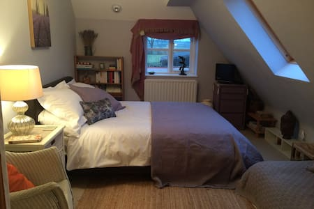 Comfortable Countryside Room inc breakfast - Wells