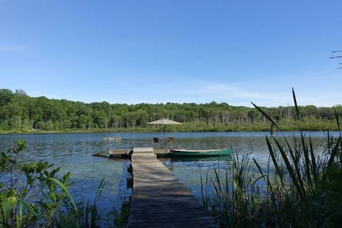 Hudson Valley Nature Retreat Private Natural Lake