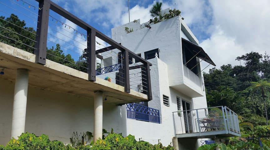 El Yunque Rainforest Bungalow / Garden Deck Apt! - Canóvanas - Bungalow