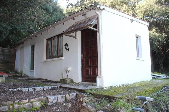 Petite maison dans le maquis avec vue mer. - Porto-Vecchio - Ferienunterkunft