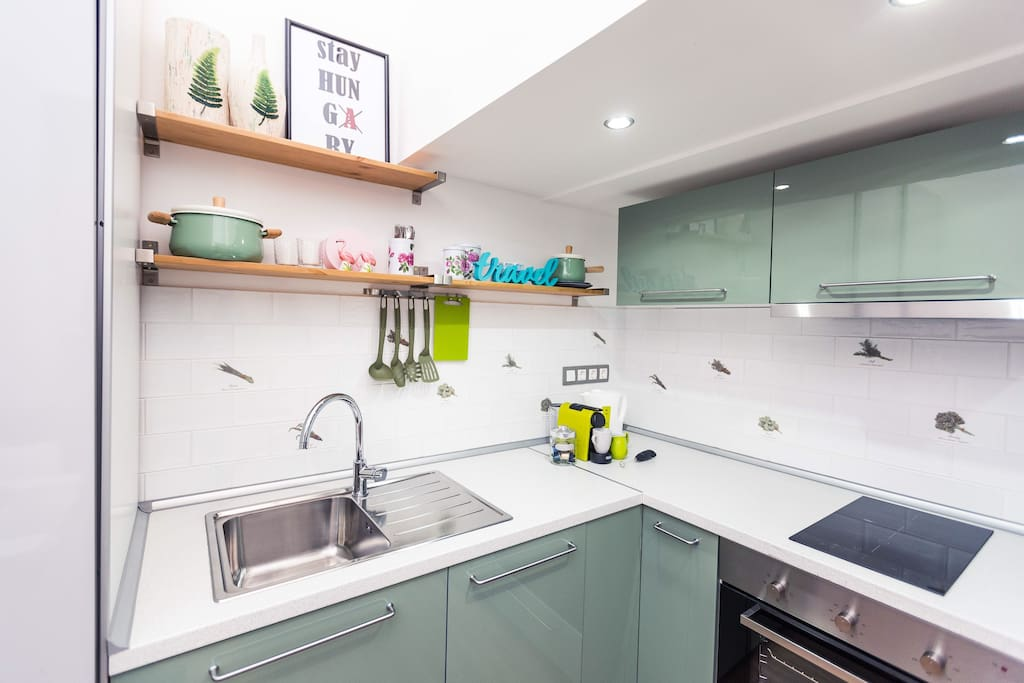 Eat well, travel often :) full-equipped kitchen at your disposal