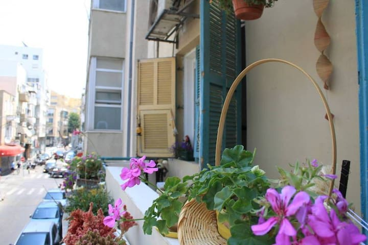 Private room, 7 minutes walk from the beach - Tel Aviv-Yafo - Apartemen