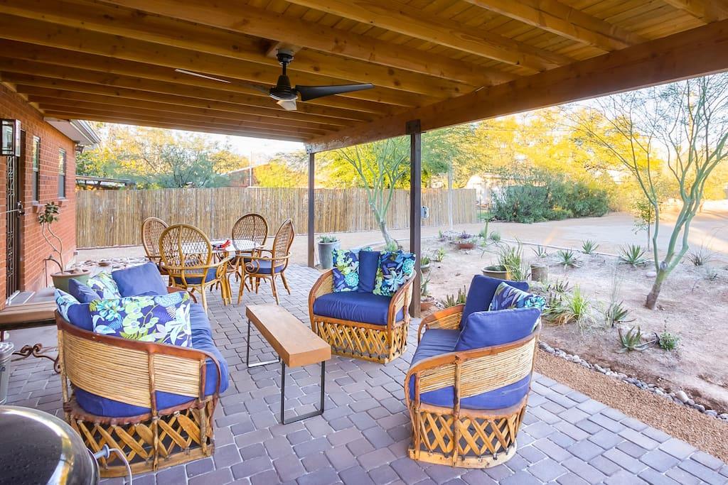 Huge back porch to enjoy!