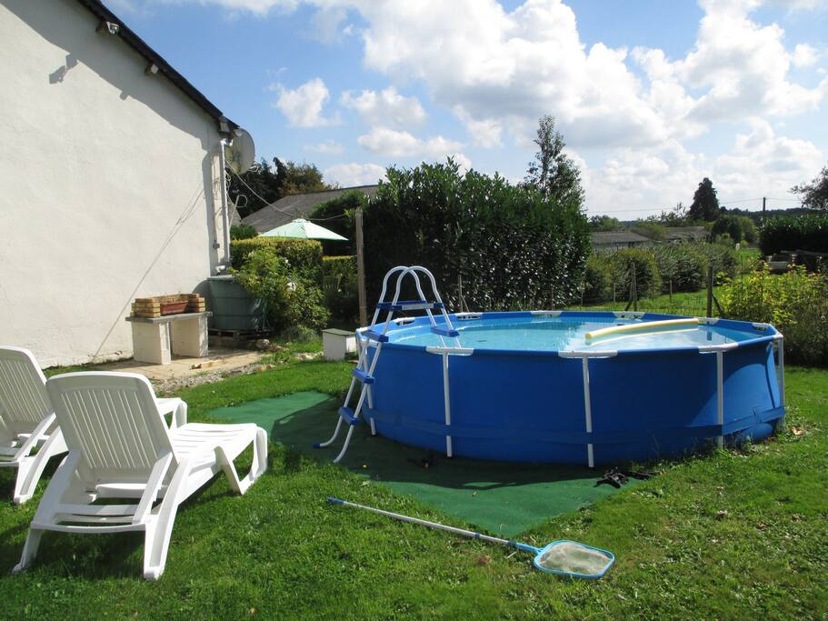 Soak up the sun in the Pool and BBQ area