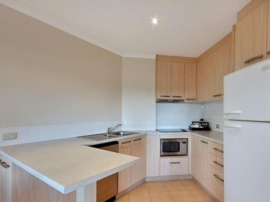Fully functioning and equipped kitchen
