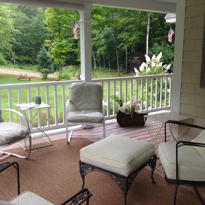 Relax on our porch